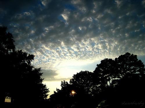 summer june sky