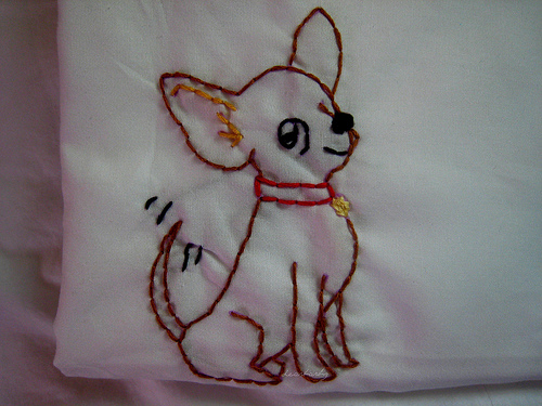 chihuahua embroidery